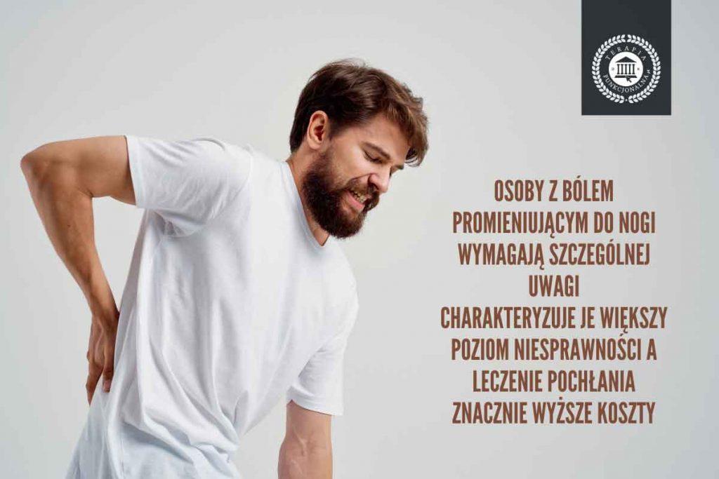 ból dolnego odcinka kręgosłupa