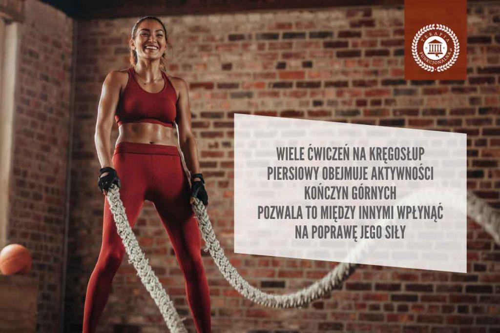 ćwiczenia na kręgosłup piersiowy poprawa siły